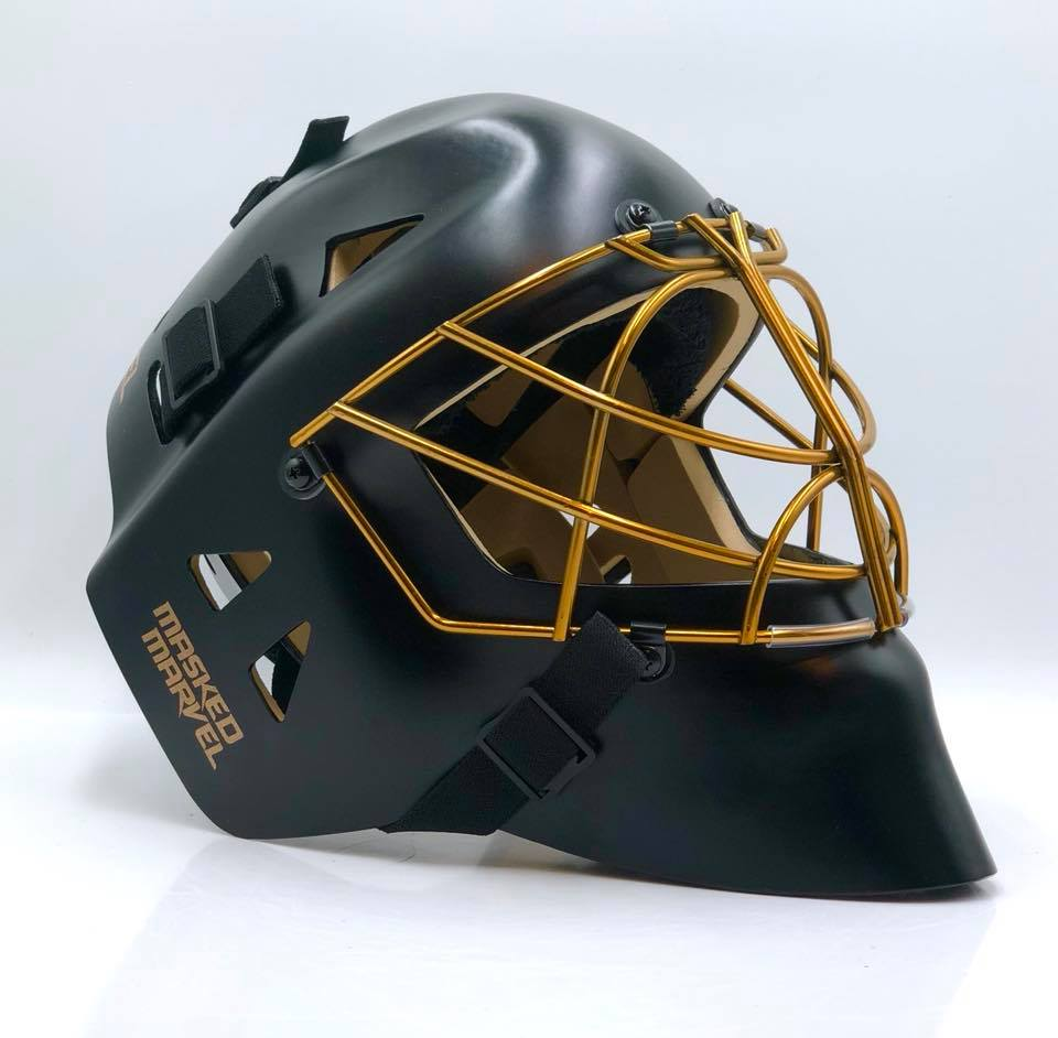 Outlaw 2.0 Model - Matte Black W/Gold Cage