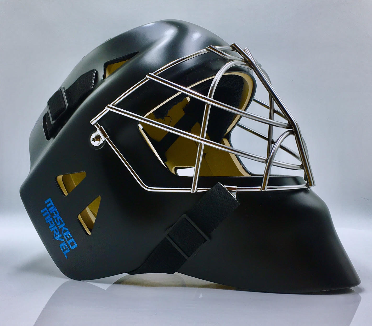 Matte Black With A Chrome Cage