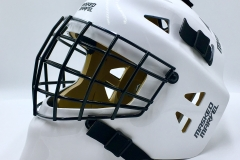 Crisp White With A Black Cage