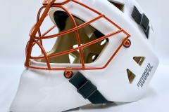 White Shell With Orange Cage