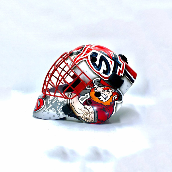 Masked Marvel Goalie Helmets » Its Your Head - You Decide!