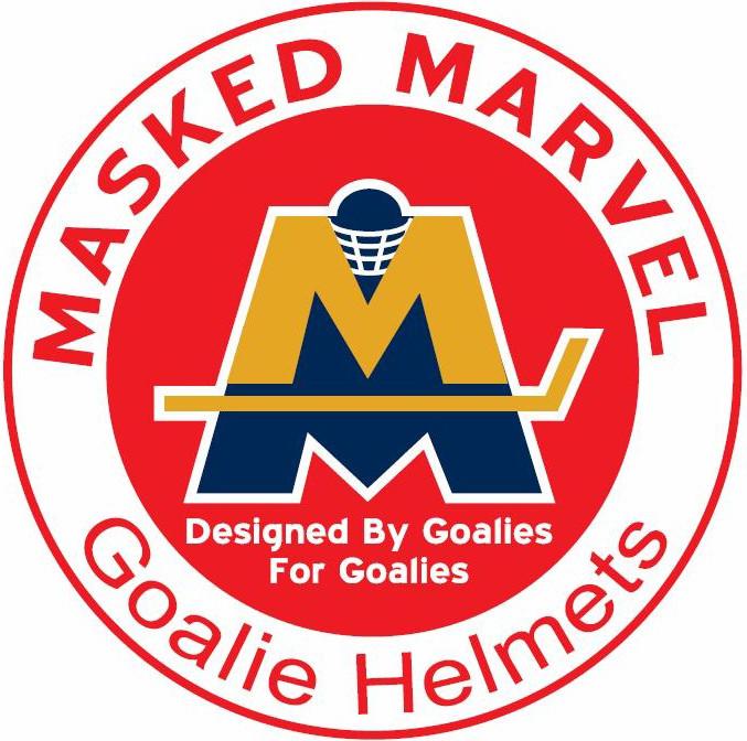 Masked Marvel Goalie Helmets