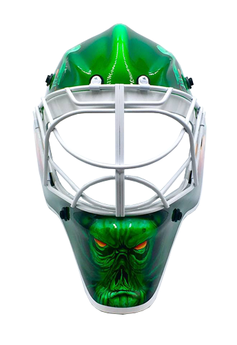 Masked Marvel Goalie Helmets Its Your Head You Decide
